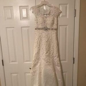 Wedding dress - never worn.